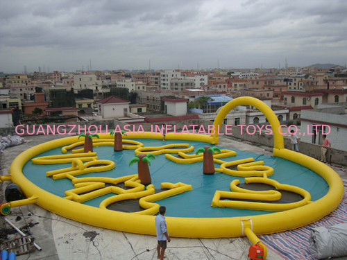 Circular Inflatable Race Track for Zorb Ball Play সরবরাহকারী