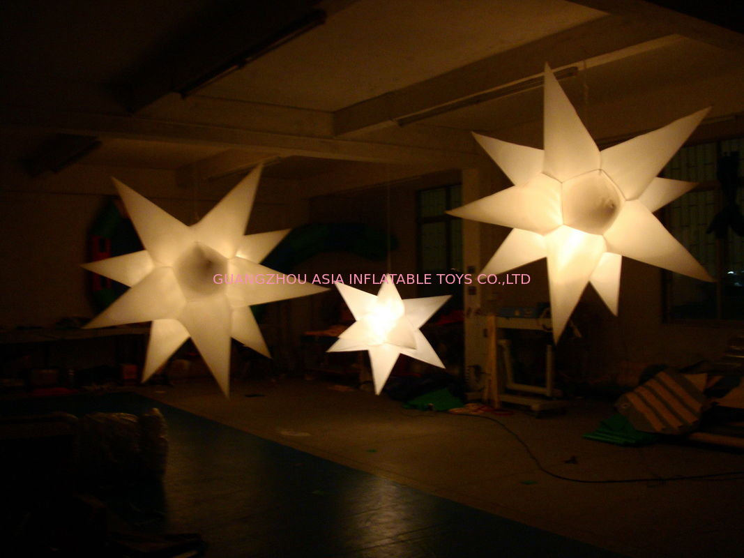 Led Inflatable Lighting Decoration Star For Party And Night Club সরবরাহকারী