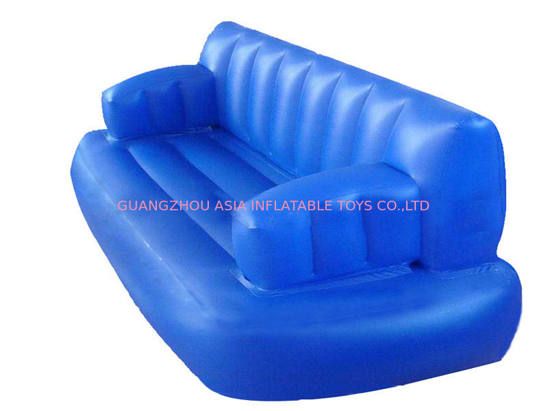Water Floating Blue Inflatable Sofas And Couches For Sleeping With Commercial Quality সরবরাহকারী