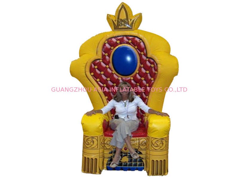 Chinese Supplier Advertising Inflatable King Chair Sofa For Chair Furniture Exhibition সরবরাহকারী