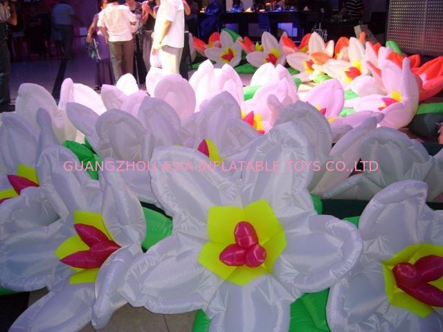Fashion Lotus Flower Inflatable Lighting For Floating Artificial Decorative সরবরাহকারী