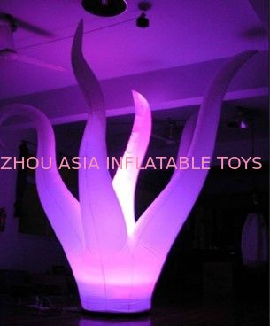 Lighting Inflatable Seaweed With Taffeta Fabric For Outdoor Party সরবরাহকারী