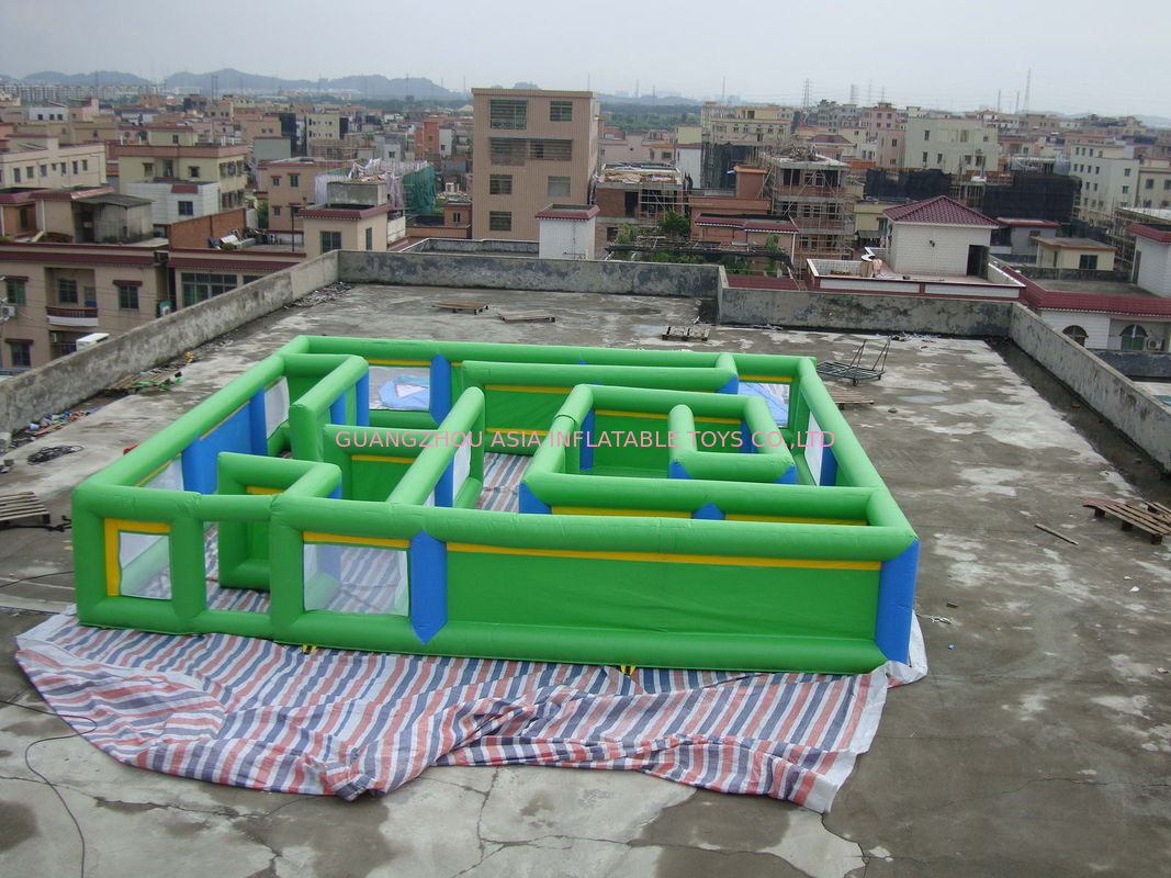 Commercial Grade Inflatable Maze Games For Children And Adults সরবরাহকারী