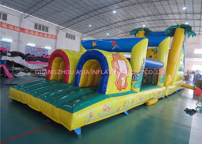 Outdoor Giant Palm Tree Obstacle Challenge For Kids Amusement Sports সরবরাহকারী