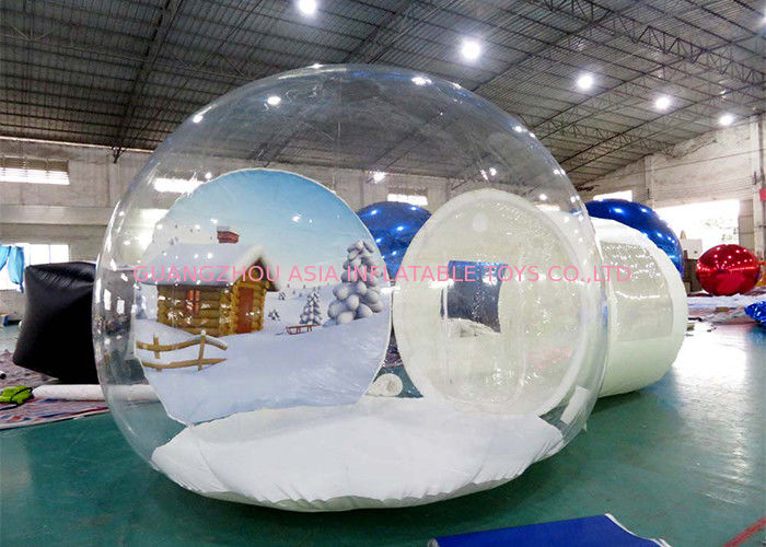 Inflatable Snow Globe for Sale with Background সরবরাহকারী