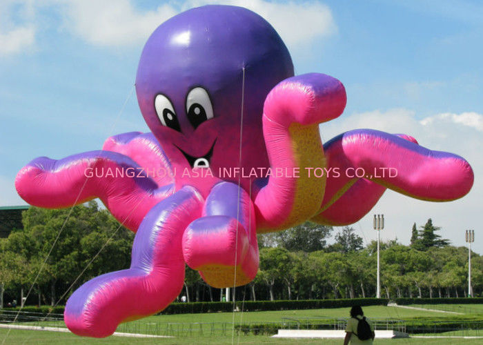 Advertising Inflatable Octopus / Octopus Flying Customized Ball সরবরাহকারী