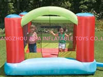 Baby Inflatable Amusement Park With Mini Bouncer With Four Cones সরবরাহকারী