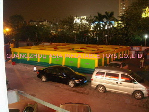 Inflatable Maze Games For Playground , Inflatable Interactive Labyrinth Games সরবরাহকারী