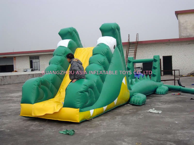 Aqua Floating Water Sports, Inflatable Crocodile Water Obstacle Course সরবরাহকারী