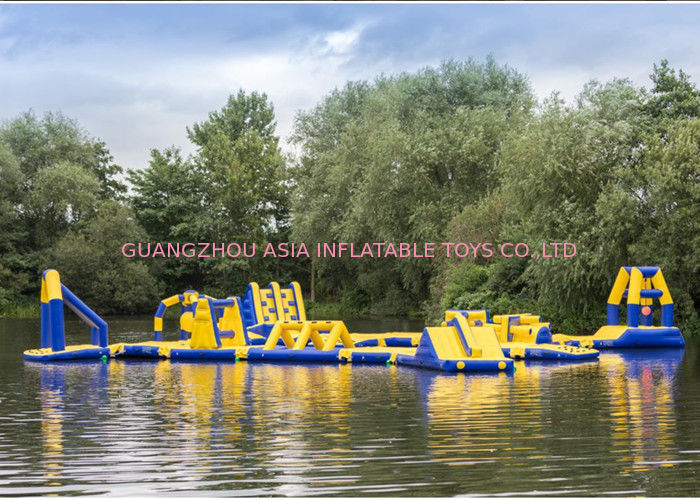 Waterproof Inflatable Floating Water Playground For Kids Or Adults 3 Years Warranty