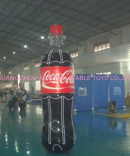 Giant Inflatable Coca Cola Bottle for Advertising / Display সরবরাহকারী