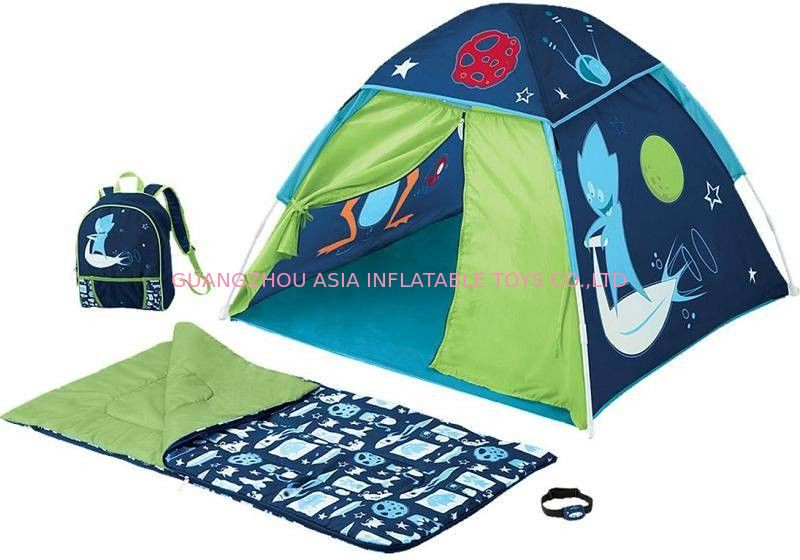 Colourful CE Flexible Inflatable Camping Tent for Sale সরবরাহকারী