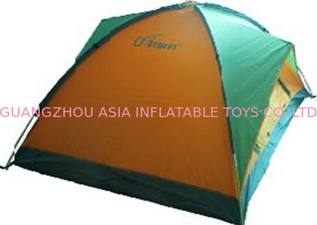 Outdoor Inflatable Camping House Tent with Structure সরবরাহকারী