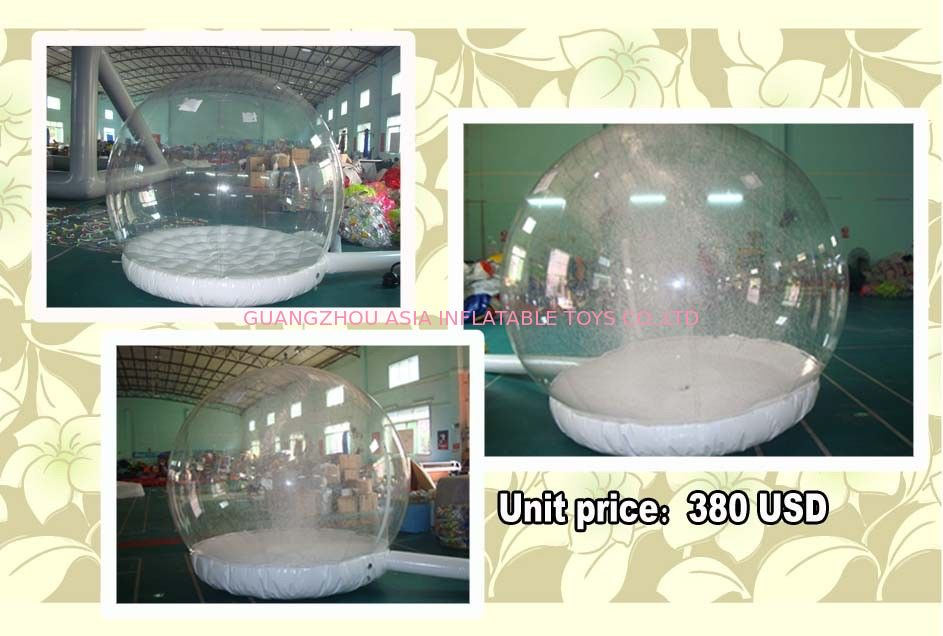 Customize EN71 Inflatable Snow Globe with Snow Machine সরবরাহকারী