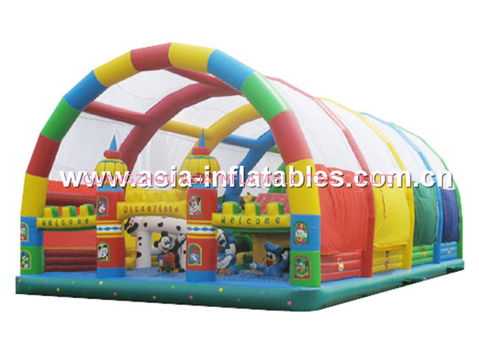 Giant Inflatable Bouncing Funland, Inflatable Playground For Children সরবরাহকারী