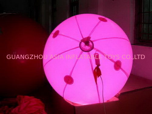 colorful decoration inflatable balloon with LED light for sales সরবরাহকারী