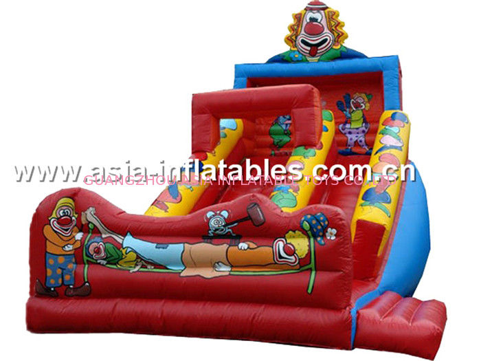 Inflatable Joker Slide For Children Birthday Party Rental Games সরবরাহকারী