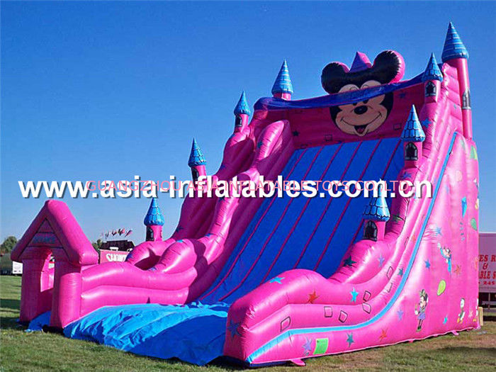 Outdoor Kids Games, Giant Inflatable Mickey Mouse Slide সরবরাহকারী