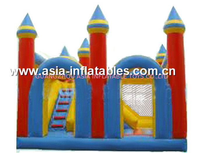 Funny inflatable combo/ inflatable bouncer with slide/ inflatable jumper সরবরাহকারী