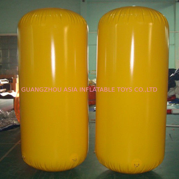 Cylinder Inflatable Buoy Water Games , Inflatable Air Buoy For Swimming Event সরবরাহকারী