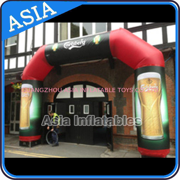Opening Celebration Arch Inflatable For Advertisement , Advertising Inflatables সরবরাহকারী
