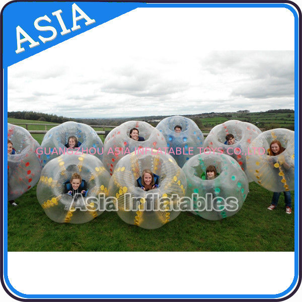 Tpu Material Inflatable Body Zorb Ball , Body Zorbing 1.2m / 1.8m সরবরাহকারী