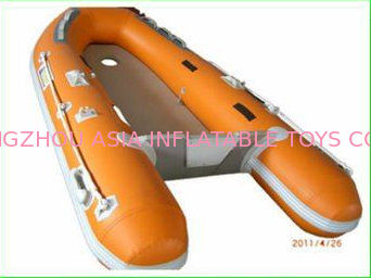 Custom Inflatable Sports Boat 2 Main Chambers On Hull for Extra Security সরবরাহকারী