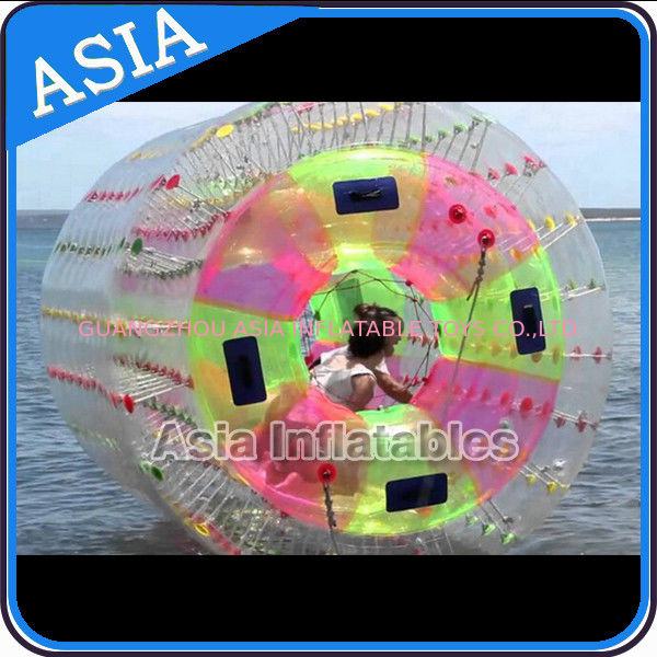 Nice TPU Inflatable Multi-colors Aqua Roller for Summer Water Pool সরবরাহকারী