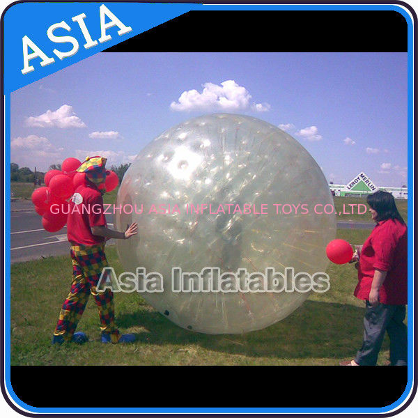 Transparent Inflatable Grass Ball Zorb Balls For Sale , Inflatable Zorb Ball সরবরাহকারী