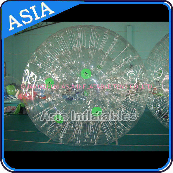 Fun Inflatable Color Dots Zorb Ball Crazy Giant Hamster Ball সরবরাহকারী