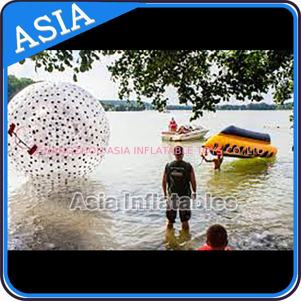 Water Games Used Pvc Inflatable Zorb With Color Dots For Children সরবরাহকারী