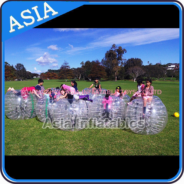 Custom 1.8m  Inflatable Body Bumper Ball For Adult Sports Games সরবরাহকারী