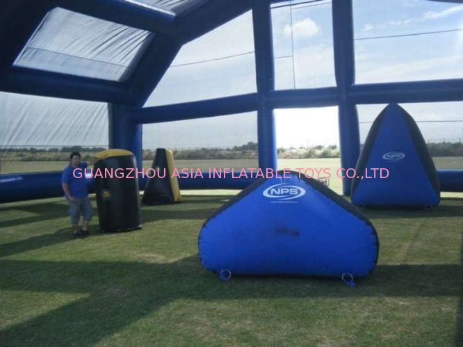 Water Proof Inflatable Paintball Arena ARENA07 with Durable Anchor Rings সরবরাহকারী