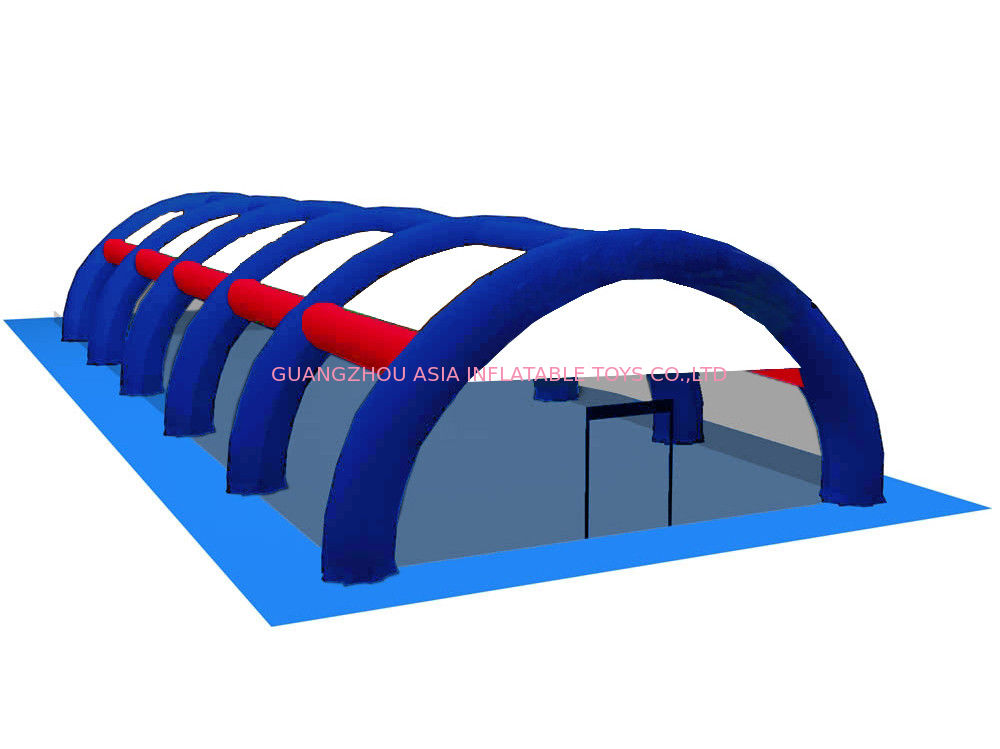 0.9mm PVC Tarpaulin Inflatable Paintball Arena ARENA08 সরবরাহকারী