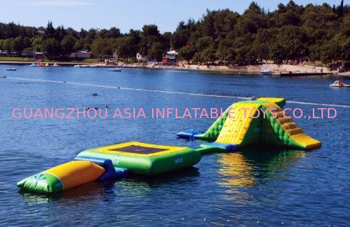 Floating Small Wibit Water Park Station / Inflatables Water Sports Equipment সরবরাহকারী