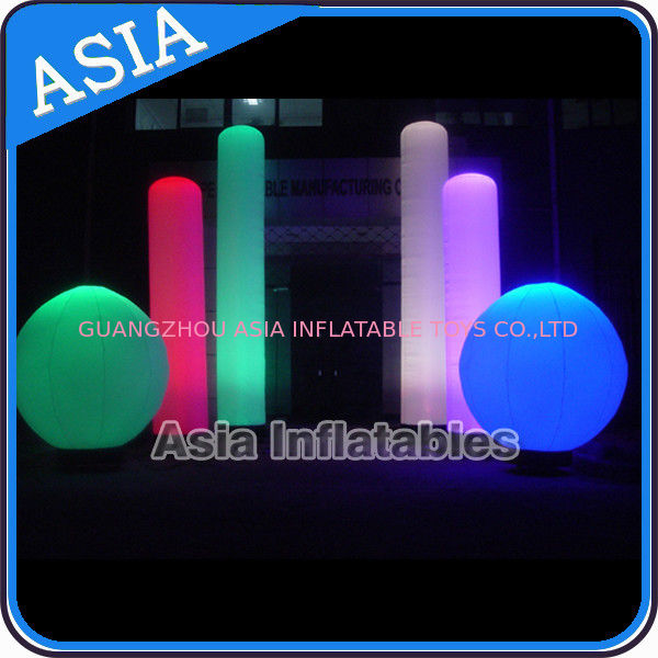 Inflatable Nightclub Decoration Inflatable LED Lighting Sphere সরবরাহকারী