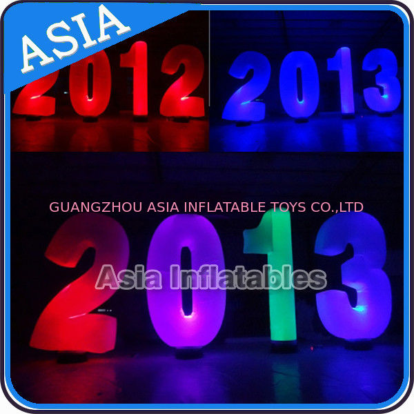 Inflatable Cone lighting led inflatable alphabet decoration at park or garden সরবরাহকারী